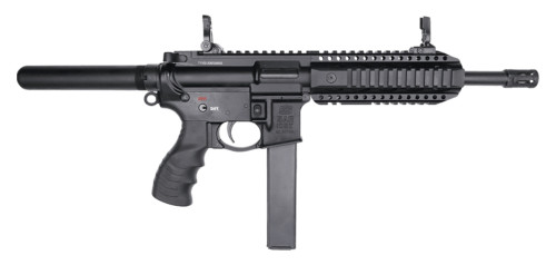"SAR 109T AR-9 Pistol 9mm, 8.6"" Barrel, Flip-Up Sights, Black, 3x 30rd"