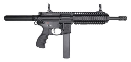 """SAR 109T AR-9 Pistol 9mm, 8.6"""" Barrel, Flip-Up Sights, Black, 3x 30rd Mags"""
