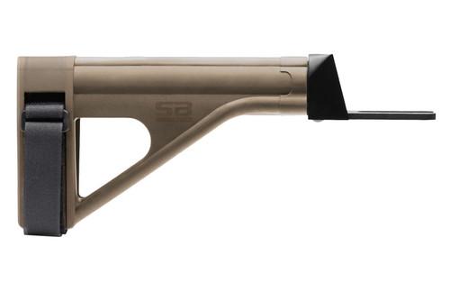 SB Tactical SOB47 AK47 Brace, Elasto-Polymer, Flat Dark Earth