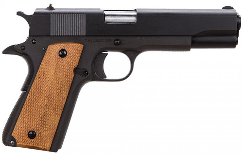 "Taylor's & Company 1911 Compact, .45 ACP, 3.63"" Barrel, Checkered-Walnut Grip, 7rd"
