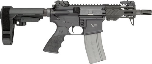 "Rock River Arms RUKI-15 AR-15 Pistol 223/5.56 NATO 4.5"" Barrel, SBA3 Tactical Arm Brace, 30rd Magazine"