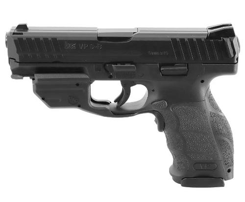 "HK VP9B 9mm, 4.1"" Barrel, 17rd W/Crimson Trace Laser, Push-Button Mag Release"