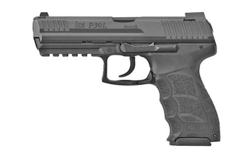 "HK P30L V1 LEM DAO, 9mm, 4.45"" Barrel, 17rd, Night Sights"