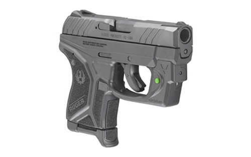 "Ruger LCP II, .380 ACP, 2.75"", 6rd, Green Viridian Laser, Fixed Sights"