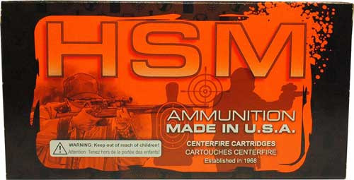 HSM 22-250 Remington 55gr, V-Max Varmint, 20rd Box