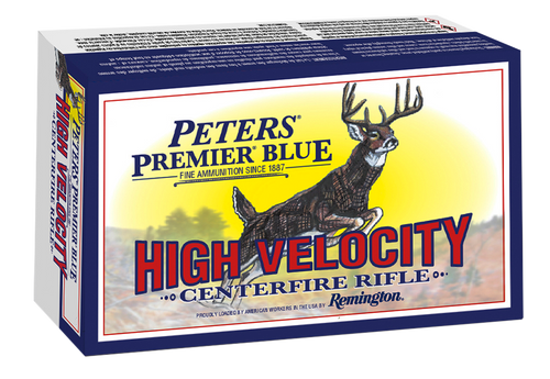 Remington Premier Blue 243 Win 95gr, Blue Tipped, 20rd Box