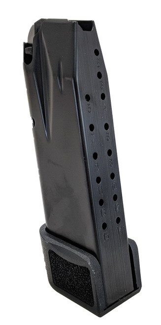 Century TP9 Elite SC Magazine 9mm, Black, Grip Extension, 15rd