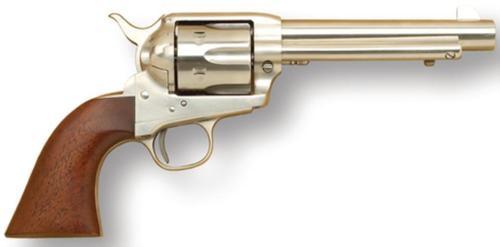 Cimarron Model P .45 Long Colt Pre-War 5.5 Inch Barrel Stainless Steel Finish Walnut Grip