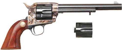 """Cimarron Model P 7 1/2"""" .45 Lc/.45 ACP Dual Cyl.  PW 45 Colt"""