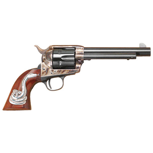 "Cimarron MAN With NO Name SAA 5 1/2"" .45 LC PW W/ Snake RH PW 45 Colt"