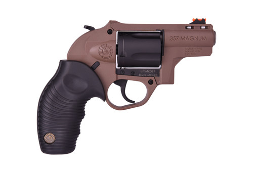 "Taurus 605 Protector Polymer .357 Magnum/38 Special Black / Brown 2"" Barrel 5 Shot"