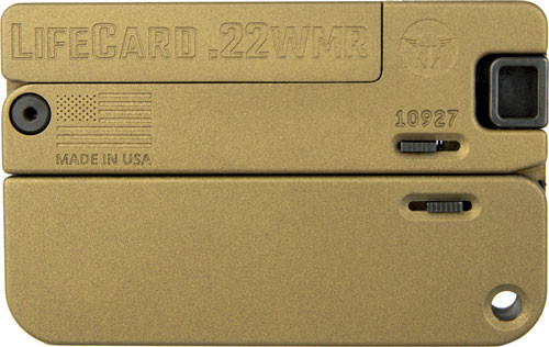 Trailblazer Lifecard .22WMR Burnt Bronze