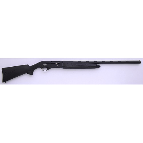 "LKCI Omega 12S 12 Gauge Shotgun 28"" Black"