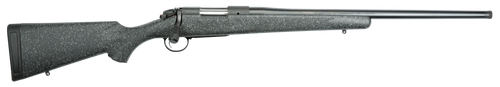 "Bergara Rifles B-14 Ridge 300 PRC 2+1 24"" Dark Gray Black & White Flecks Fixed American Style Stock Matte Blued Right Hand"
