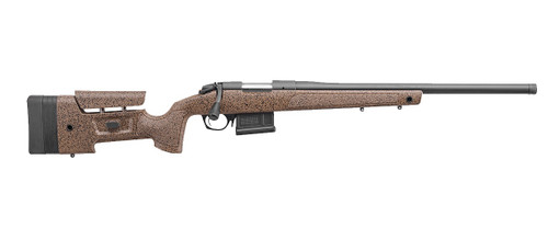 "Bergara Rifles B-14 HMR 300 PRC 5+1 26"" Speckled Black/Brown Molded with Mini-Chassis Stock Matte Blued Right Hand"