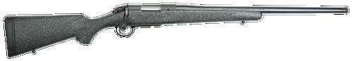 "Bergara Rifles B-14 Ridge 6.5 PRC 2+1 24"" Dark Gray Black & White Flecks Fixed American Style Stock Matte Blued Right Hand"