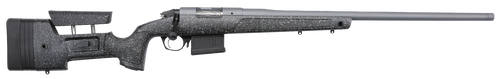 "Bergara HMR Pro 300PRC, 24"" Threaded Barrel, Gray, Mini-Chassis, 5Rd, Aics Style Detachable Magazine, Triggertech Trigger, Premier Action"