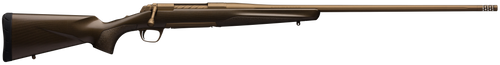 """Browning X-Bolt Pro 30 Nosler 3+1 26"""" Burnt Bronze Cerakote Fixed Textured Gripping Panels Stock Right Hand"""