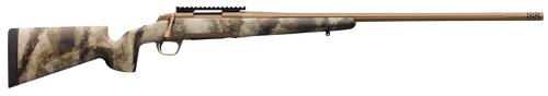 "Browning X-Bolt Hells Canyon Speed Long Range 6.5 PRC 4+1 26"" A-TACS AU Camo Fixed McMillan Game Scout Stock Burnt Bronze Cerakote Right Hand Muzzle Brake"