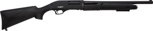 "LKCI Omega P12 12 Gauge Pump Shotgun 20"" Barrel Black"