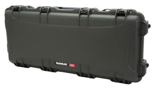 "NANUK 985 AR-15 Case with Foam Olive NK-7 Resin 39.75"" L x 17.31"" W x 6.63"" H"