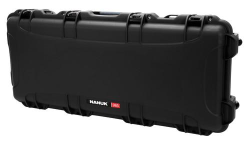 "Nanuk 985 AR15 Case with Foam Black NK-7 Resin, 39.75"" L x 17.31"" W x 6.63"" H"