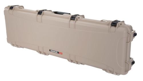 """NANUK 995 Case with Foam Polyethylene Tan 55.10"""" L x 17.30"""" W x 6.60"""" H"""