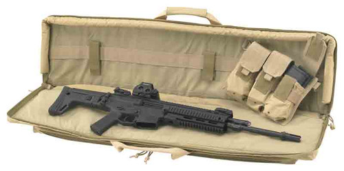"US Peacekeeper Rapid Assualt Tactical Case, 42"" Length, Tan"