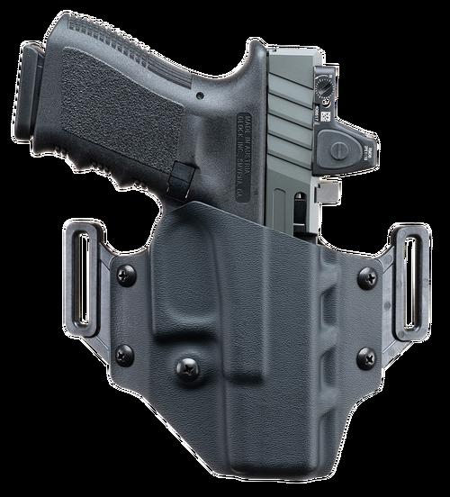 Crucial Concealment Covert OWB Glock 43/43X, Kydex, Black, RH