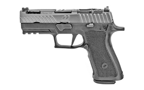 "ZEV Technologies Z320 XCarry 9mm, 3.9"" Match Barrel, Titanium Gray, 17rd"