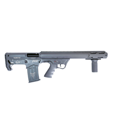Black Aces Tactical Bullpup 12 Gauge Pump, 18.5 Inch Barrel. 2 - 5 rnd Mags, Black Synthetic