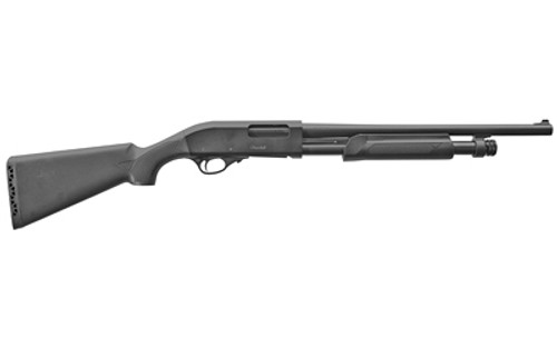 "European American Armory AKKAR, Pump, 12 Ga, 3.5"" Chamber, 18.5"" Barrel, Black, Synthetic Stock, 5 Round"