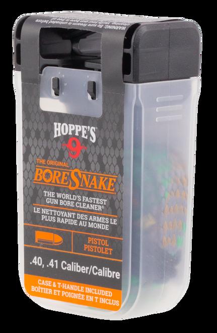 Hoppes BoreSnake Den 40/41 Caliber Pistol Bronze Brush