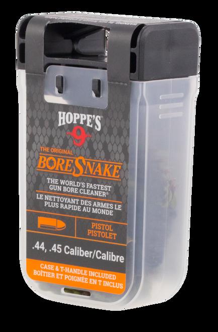 Hoppes BoreSnake Den 44/45 Caliber Pistol Bronze Brush