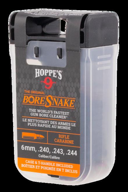 Hoppes BoreSnake Den 6mm/.240/.243/.244 Rifle Bronze Brush