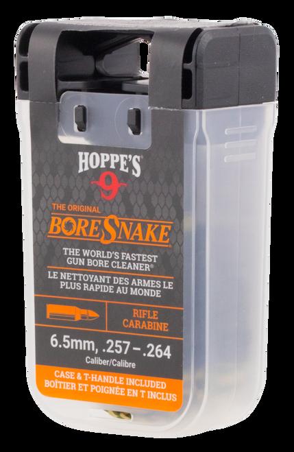 Hoppes BoreSnake Den 6.5mm/257-264 Caliber Rifle Bronze Brush