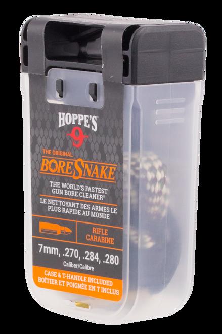 Hoppes BoreSnake Den 7mm/270/284/280 Caliber Rifle Bronze Brush