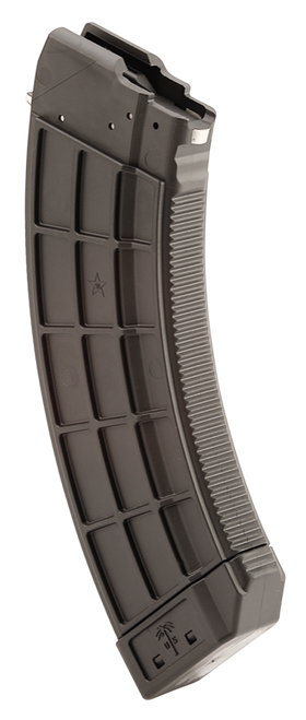 US Palm AK-47 Magazine, Polymer, 7.62X39, 30Rd, Black, Fits AK-47