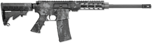 "Rock River Arms RRAGE AR-15 223/5.56 16"" Barrel, Veil Tac-Black Camo, 30rd Mag"