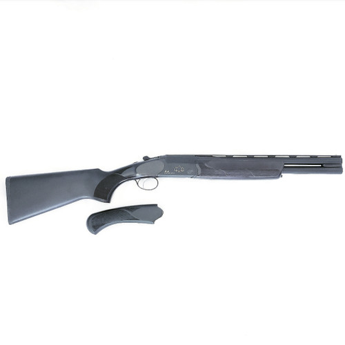 "Black Aces Tactical O/U, 12 Gauge, 18.5"" Barrel, Full Size and Short Stock,Black Receiver, Walnut Chokes"