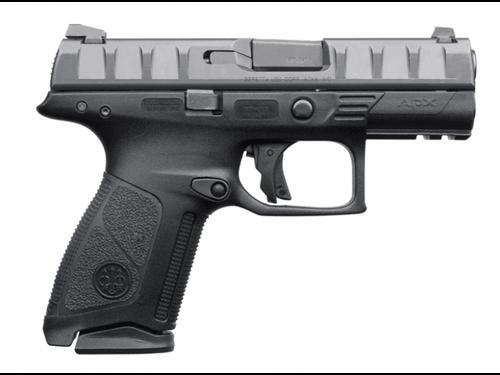 """Beretta APX Centurion 9mm 3.7"""" 15 Round, Black, Law Enforcement"""