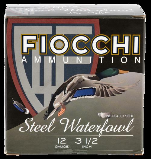 "Fiocchi Speed Steel Waterfowl 12 Ga, 3-1/2"", 1-3/8oz, 4 Shot, 25rd Box"
