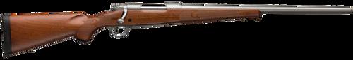 "Winchester 70 Featherweight 270 Win Short Magnum, 24"" Barrel, Grade I Walnut Stock, Stainless Steel, 3rd"