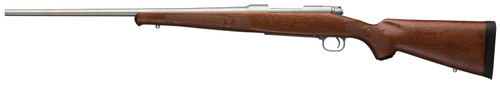 """Winchester 70 Featherweight 7mm-08 Rem, 22"""" Barrel, Grade I Walnut Stock, Stainless Steel, 5rd"""
