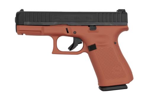 """Glock 44 .22 LR, 4"""" GMB, Adjustable Sights, Copper Suede, 10rd"""