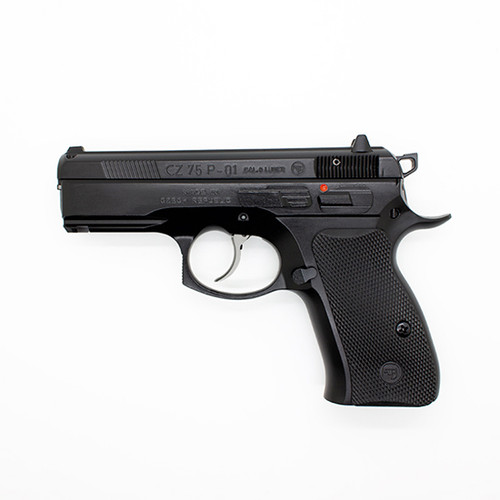 CZ P-01 9mm Compact Steel Frame 14 Round Black Ambidextrous
