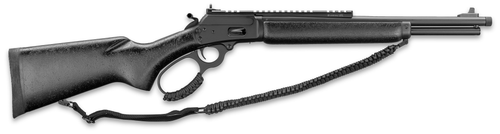 "Marlin 1894 Dark 44 Remington Mag 7rd 16.25"" Black Hardwood Black Parkerized Right Hand"