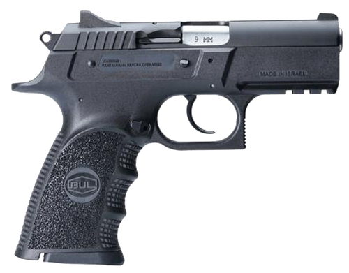 "BUL ARMORY USA Cherokee Compact 9mm 3.66"" 17rd Black Oxide Steel Slide Black Polymer Grip"