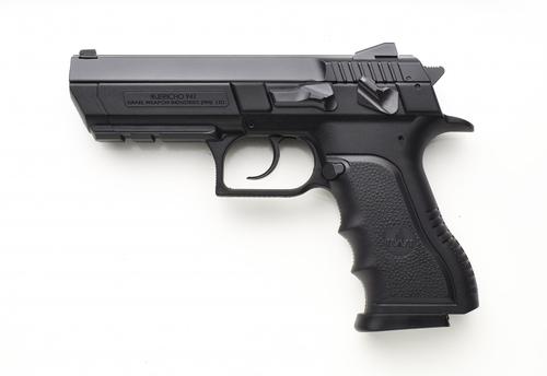 "IWI US Jericho 941 9mm 4.40"" 10+1 Black Steel Slide Black Polymer Grip"