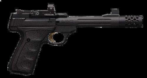 "Browning Buck Mark Competition 22 LR 5.90"",  Matte Black Aluminum Alloy Slide Black Ultragrip FX Grip,  10 rd"